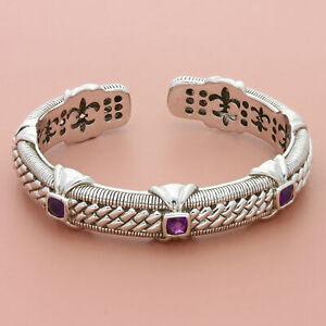 judith-ripka-sterling-silver-3-stone-amethyst-hinged-cuff-bracelet-6-75in