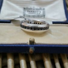 Genuine Thomas Sabo Sterling Silver Fine Plain Ring Size 56 TR2123