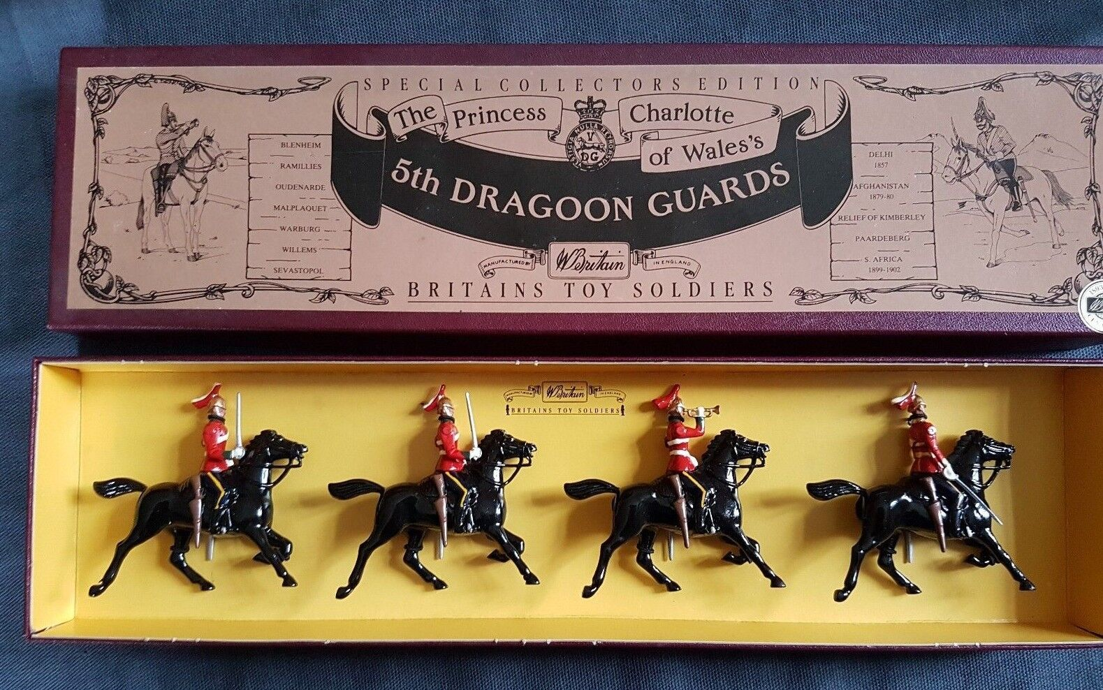Britains Metal The Princess Charlotte of Wale's 5th DRAGOON GUARDS