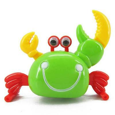 Vivid Children's Attractive Wind-up Walking Cute Crab Toy Funny Educational Toys
