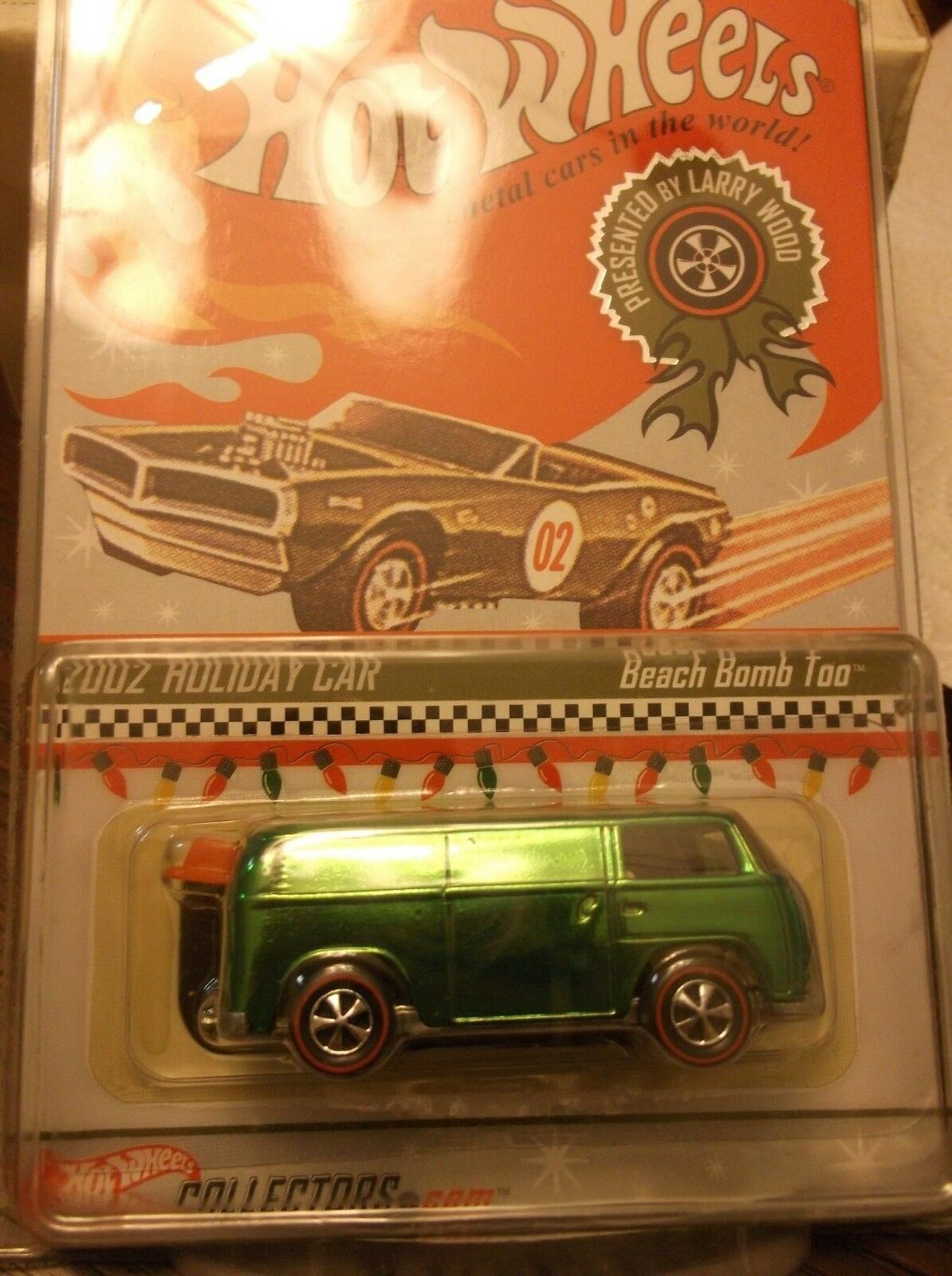 HOT WHEELS 2002 HOLIDAY CAR BEACH BOMB TOO