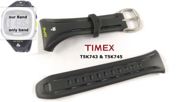 Timex Replacement Band T5K743 & T5K745 Ironman Run Trainer 2.0 GPS - 23/35 mm