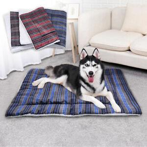 Lit pour chien coussin douillet lavable chaud panier corbeille couchage M L XL