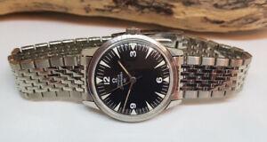 USATO-1964-OMEGA-SEAMASTER-30-SUB-secondo-RUOTA-CAL-286-Manuale-Vento-Man-039-s-Watch