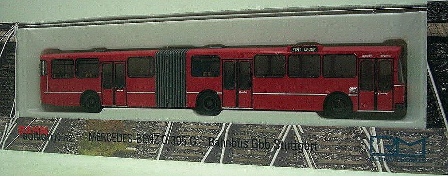 1 87 Rietze MB O 305 G   DB - Bahnbus - GBB Stuttgart  | Zu verkaufen