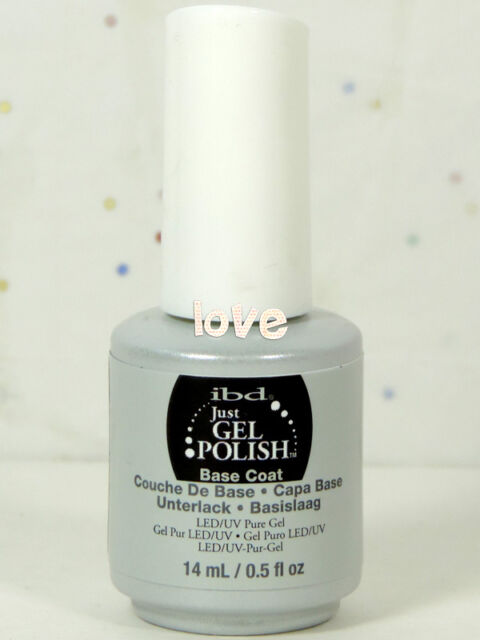 IBD Just Gel Polish LED/UV Base Coat 15ml/0.5fl.oz