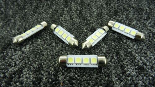 RENAULT 39mm 4 SMD LED 239 272 C5W CANBUS NO ERROR INTERIOR LIGHT FESTOON BULB