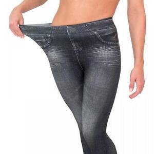Jeans maglietta 12 10 12 rosa 14 Leggings Taglie con Grandi una neri Jeggins zHAvqPBH