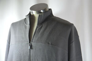 BEN-SHERMAN-GRAY-GREY-Men-039-s-Size-3XL-Full-Zip-Sweater-Jumper-Knitwear-NEW-NWT