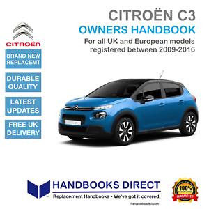 CITROEN C3 Auto Manuale Manuale 2nd generazione da 2009-2016 NUOVO