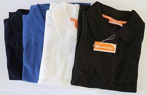 Karlowsky-Damen-Polo-Hemd-T-Shirt-Basic-Work-Poloshirt-Polohemd-in-4-Farben