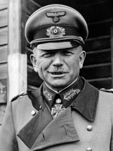 WW2 German Wehrmacht General Heinz Guderian Picture
