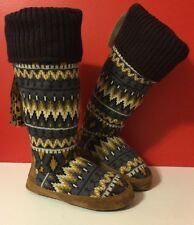 NEWT MUK LUKS Winona Safari SZ S US 5-6  Slippers Winter Boot Women Girls Boots