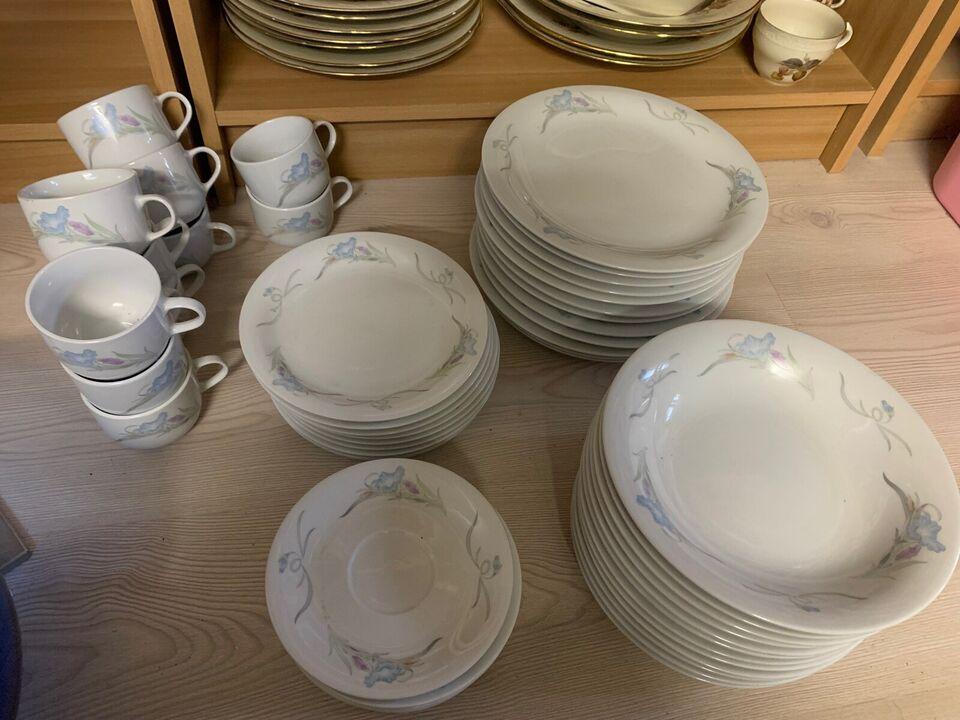 Porcelæn, Spise stel , Made in china