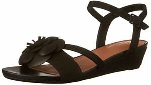 81bd352b4c76 Image is loading Clarks-Parram-Stella-Womens-Wedge-Sandals-Nubuck-7-