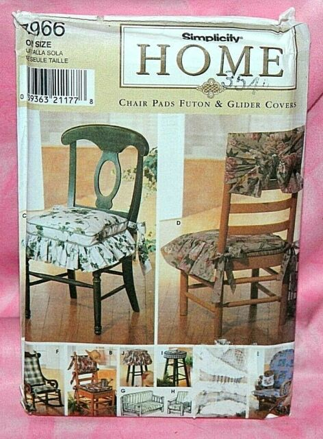 Sewing Pattern 7966 Chair Pads