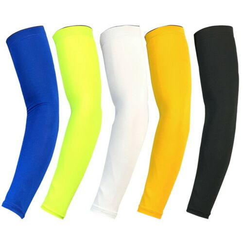 Elastic Athletic Arm Sleeve Outdoor Sports Cooling Cover UV Sun Protection Zian
