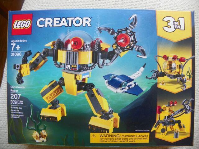 LEGO CREATOR  set- # 31090 UNDERWATER ROBOT -NEW IN BOX