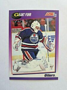 GRANT-FUHR-1991-SCORE-ICE-HOCKEY-CARD-114