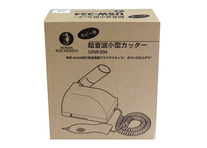 Honda Inc. USW-334 Ultrasonic Cutter for Hobby Tool cutting resin from JPN F S