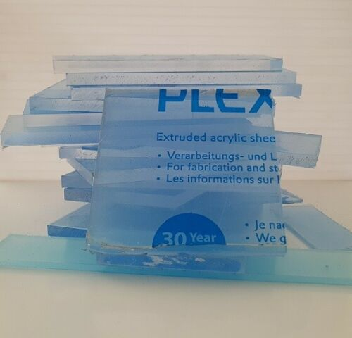 Plexiglas PMMA Acrylglas reste klar 1kg// 7,87 € verschiedene größen 1stk=0,5kg