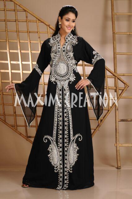 Dubai Farasha Moroccan Kaftan Dress Abaya Islamic for luciahicks ONLY 3632