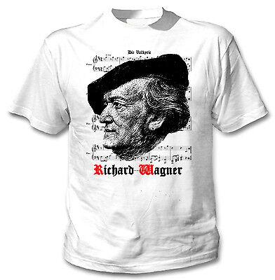 teesquare1st Mens Wagner Richard 1 White Sweatshirt
