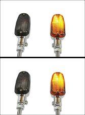 Universal 2 Pairs of Yamaha Smoke Lens motorcycle Aluminum Alloy Turn Signals