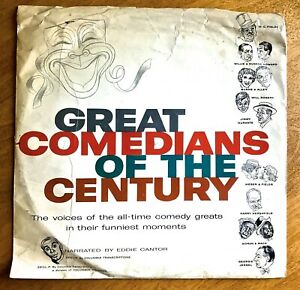Great-Comedians-of-the-Century-1957-Columbia-Ken-L-Ration-Promo-10-inch-LP