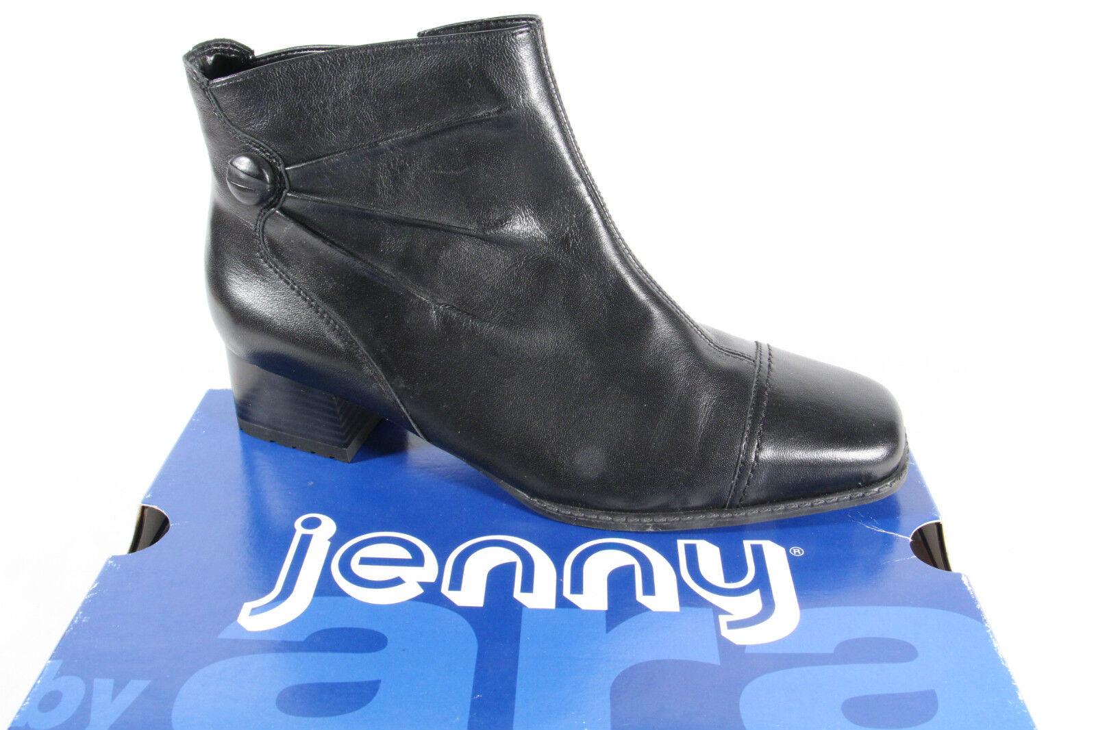 Jenny By Ara Stivaletti, Nero, Cerniera, Ampiezza 61850 H, 61850 Ampiezza Nuovo 24de42
