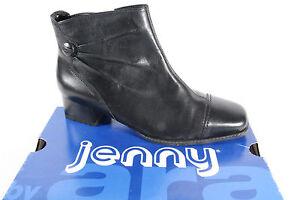 jenny by ara stiefelette schwarz rei verschlu weite h 61850 neu ebay. Black Bedroom Furniture Sets. Home Design Ideas