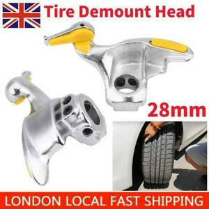 Tire Changing Machine Parts 30mm Steel Tire Changer Installation And Removal Duck Head Parts With 3 Rubber Pads