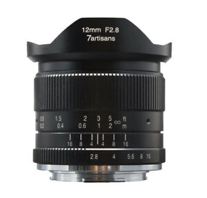 Image Is Loading 7artisans 12mm F 2 8 Wide Angle Lens
