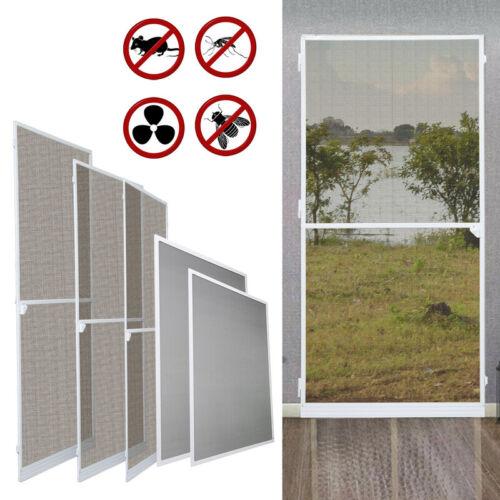 Fliegengitter Insektenschutz Fenster Fliegenschutz Tür Alu-Rahmen Mückenschutz