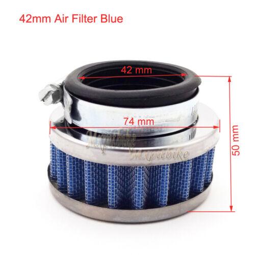 Fuel Hose Filter For 47cc 49cc Mini Moto ATV Dirt Pocket Bike 42mm Air Filter