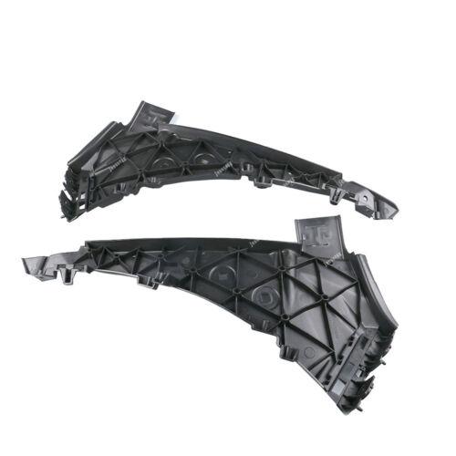Pair Right+Left Side Front Bumper Grille Bracket For 2007-2015 Audi Q7