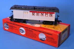 Old-Time-HO-Scale-Mantua-1890-AT-amp-SF-RR-Combine-Passenger-Car-from-Kit