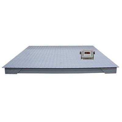 6600 lb Digital Floor Scale with Indicator Industrial Pallet Weighting Warehouse