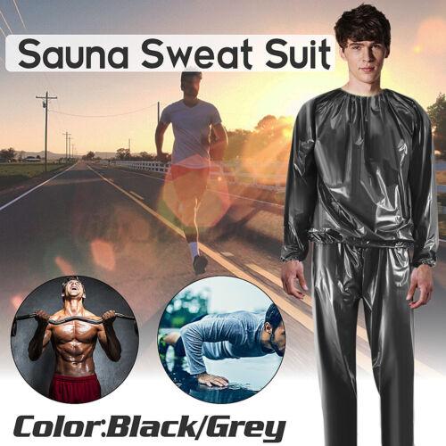 L-XXXXL Saunaanzug Saunasuit Schwitzanzug Damen Herren Sauna Suit Fitness   D//*