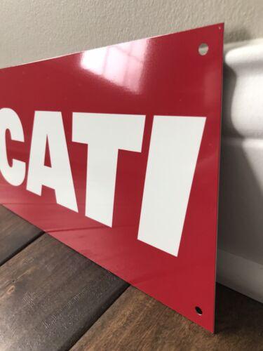 Ducati   Italian Motorcycle Motorsport Racing Rare Garage Sign Reproduction