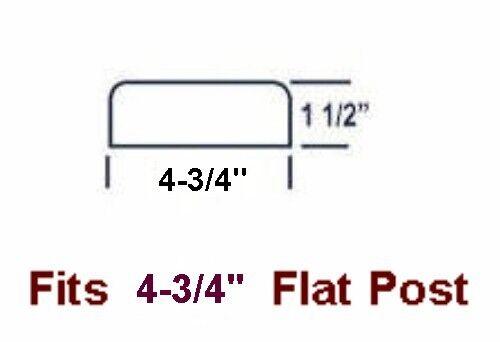 4/' Boat Dock Cushion Bumper Fits Flat Surface BM4-Flat