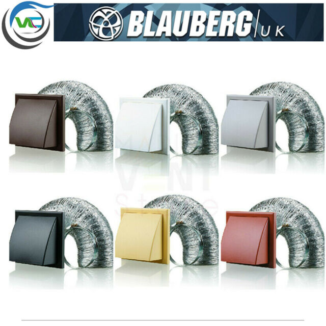 Blauberg Uk Bb Chk 125 3 Vkbl Cooker Hood Duct Cowled Vent Kit Fan Extract 125mm