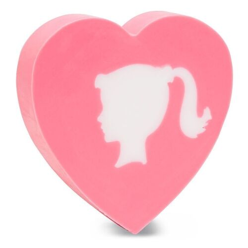 6.0 ounces Heart Shaped Primal Elements GIRL SOAP Baby Girly Gift Soap