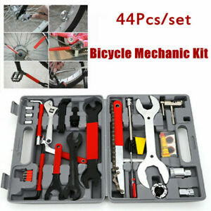 NEW Home Mechanic Bike Bicycle Cycling Tool Kit set 44pcs Free ship
