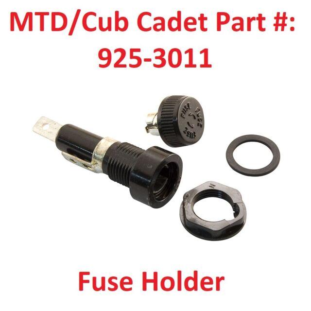 CUB CADET 1811 FUSE HOLDER 925-3011