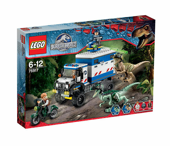 Lego ® Jurassic World 75917 Raptor-demoledor nuevo embalaje original Raptor Rampage New