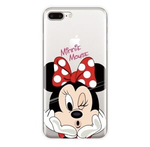 the latest 0b4ac 7be5c Details about New Soft IPhone 7 Clear Minnie Mouse Phone Case