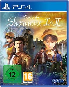 Shenmue 1 und 2      PS4  Playstation 4     !!!!! NEU+OVP !!!!!