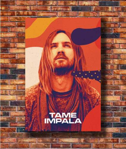 T2046 20x30 24x36 Silk Poster Kevin Parker Tame Impala Rock Music Band Art Print