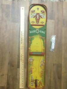 Vintage-Toy-Wolverine-Rode-O-Ring-Table-Top-Ring-Game-No-150